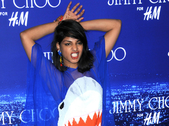 M.I.A. - winner: Best Cinematography 'Bad Girls'; Best Direction 'Bad Girls'.